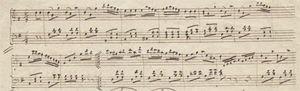 Mendelssohn Piano piece in g