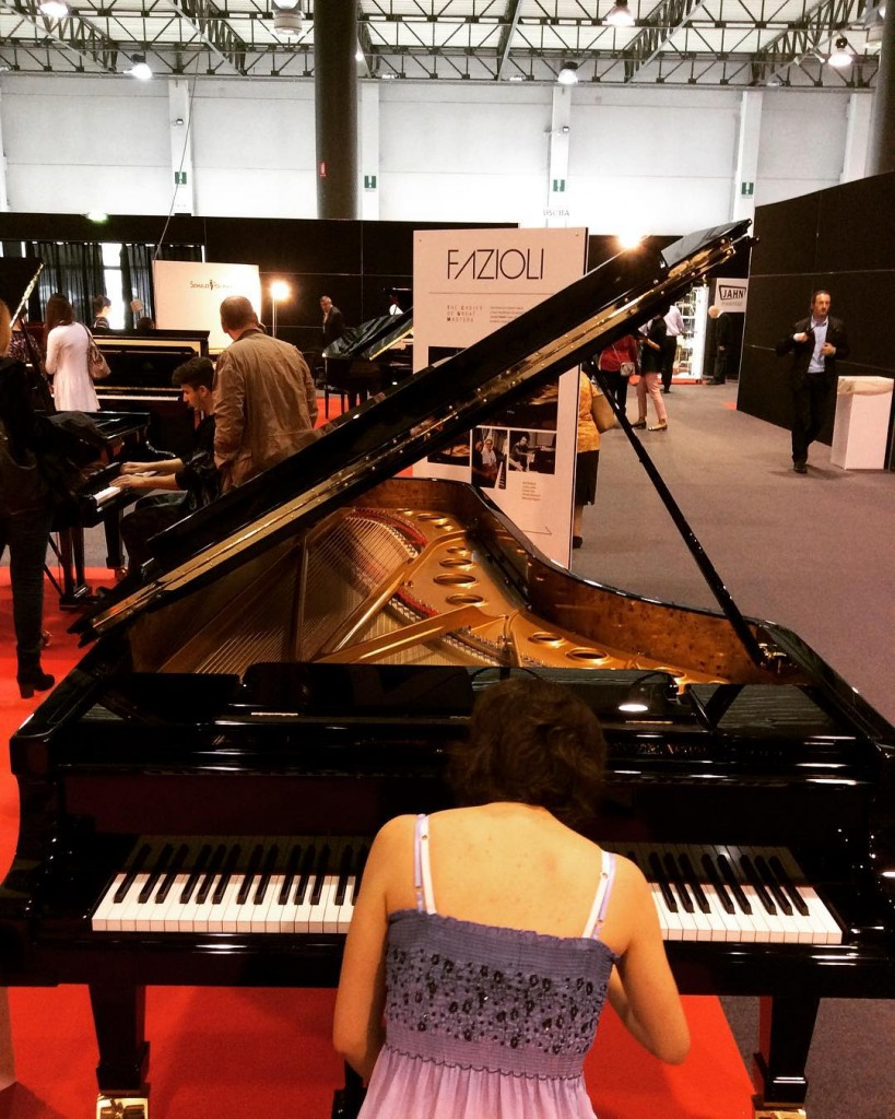 Piano exhibition in Cremona 2017