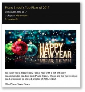 Top Picks 2017