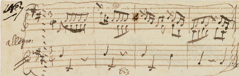 mozart new sheet music