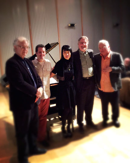 Bruce Broughton, Michael Giacchino, Gloria Cheng, Don Davis and Randy Newman