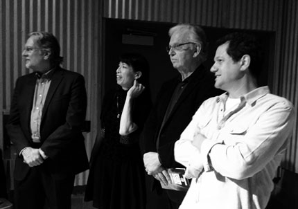 Don Davis, Gloria Cheng, Bruce Broughton and Michael Giacchino