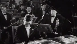 Schostakovich playing his first piano concerto