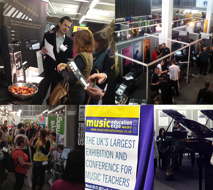 Piano Street at the Music Education Expo