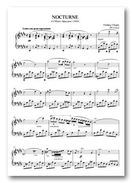 ORG Piano sheet music for