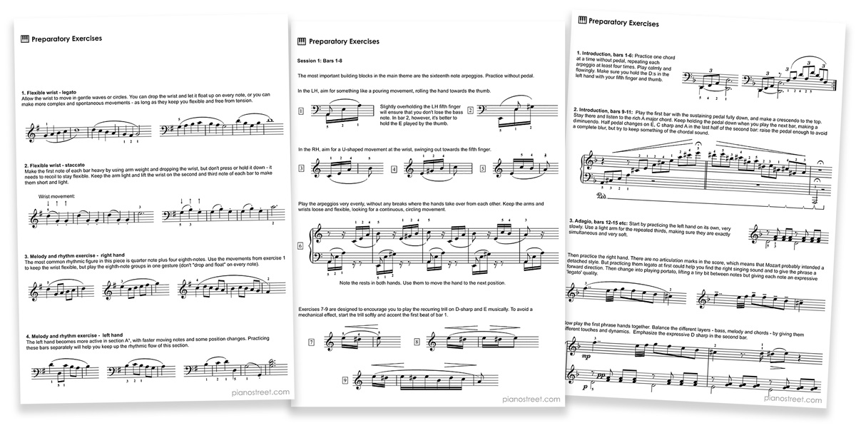 Piano Practice Tips: Instructive Editions | Piano Street
