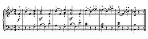 German Dance  No. 6 WoO 13  in B-flat Major by Beethoven piano sheet music
