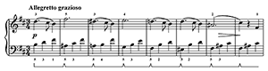 A Little Flower Op. 205 No. 11  in B Minor by Gurlitt piano sheet music