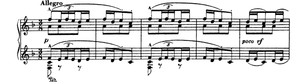 Aragòn   in F Major by Albéniz piano sheet music