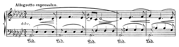 Evocation  No. 1  in A-flat Minor by Albéniz piano sheet music