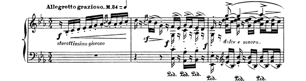 Eritaña  No. 12  by Albéniz piano sheet music