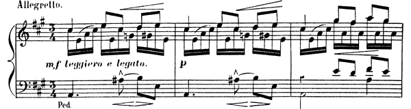 The Spring Op. 101 No. 1  in A Major by Albéniz piano sheet music