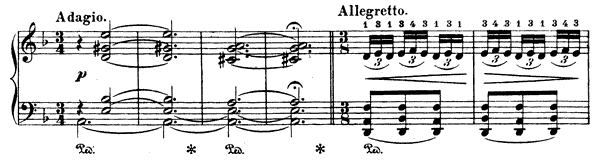 Oriental Op. 232 No. 2  in D Minor by Albéniz piano sheet music