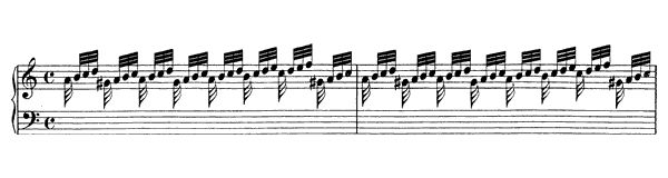Prelude (Fantasia) BWV 922  in A Minor by Bach piano sheet music