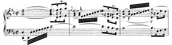 Partita  No. 4  in D Major by Bach piano sheet music