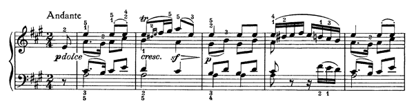Bagatelle Op. 33 No. 4  in A Major by Beethoven piano sheet music