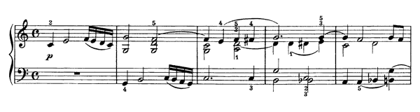 Prelude Op. 39 No. 1  in C Major by Beethoven piano sheet music
