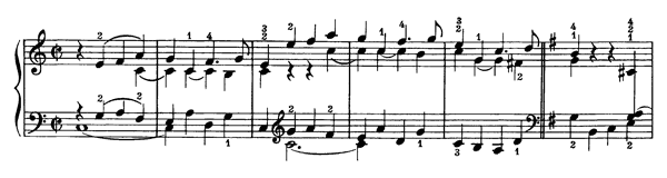 Prelude Op. 39 No. 2  in C Major by Beethoven piano sheet music