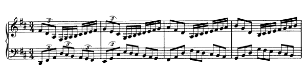 piano sheet music of 51 Piano Exercises