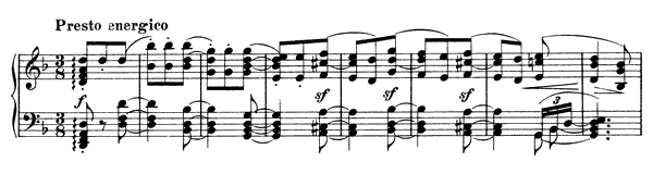 Capriccio Op. 116 No. 1  in D Minor by Brahms piano sheet music