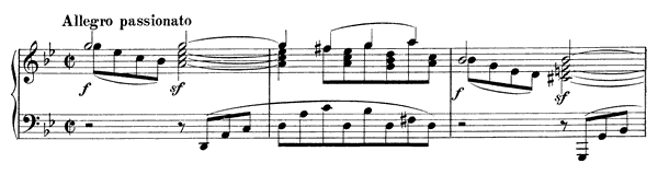 Capriccio Op. 116 No. 3  in G Minor by Brahms piano sheet music