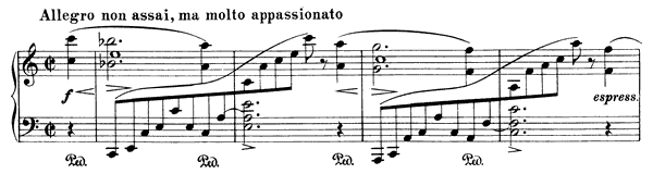 Intermezzo Op. 118 No. 1  in A Minor by Brahms piano sheet music