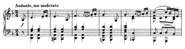 Theme and Variations   in D Minor by Brahms piano sheet music