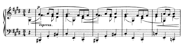 Waltz Op. 39 No. 16  in C-sharp Minor by Brahms piano sheet music