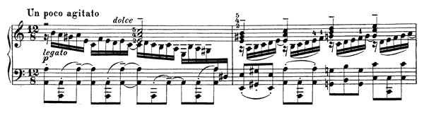 Bach: Chorale Prelude (BWV 617)  No. 6  in A Minor by Busoni piano sheet music