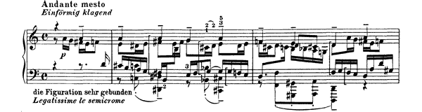 Bach: Chorale Prelude A (BWV 637)   No. 7  in A Minor by Busoni piano sheet music