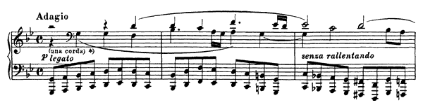 Bach: Chorale Prelude (BWV 659)  No. 3  in G Minor by Busoni piano sheet music