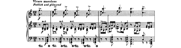 Bach: Chorale Prelude (BWV 667)  No. 1  in C Major by Busoni piano sheet music