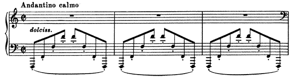 Berceuse  No. 7  by Busoni piano sheet music