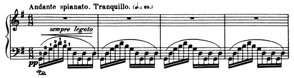 Andante Spianato & Grande Polonaise Brilliante Op. 22  in G Major by Chopin piano sheet music