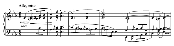 Ballade 3 Op. 47  in A-flat Major by Chopin piano sheet music