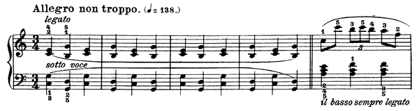 Mazurka Op. 24 No. 2  in A Minor by Chopin piano sheet music
