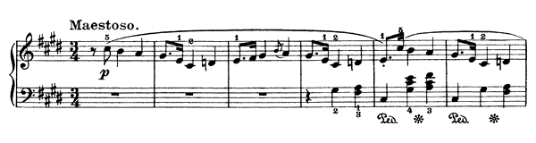 Mazurka Op. 41 No. 1  in C-sharp Minor by Chopin piano sheet music