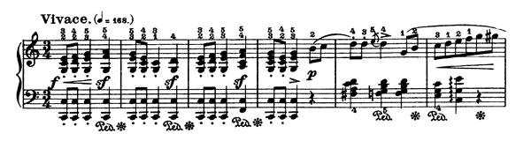 Mazurka Op. 68 No. 1  in C Major by Chopin piano sheet music