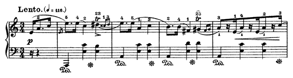 Mazurka Op. 68 No. 2  in A Minor by Chopin piano sheet music
