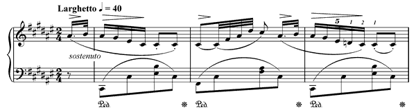 Nocturne Op. 15 No. 2  in F-sharp Major by Chopin piano sheet music