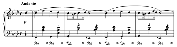 Nocturne Op. 55 No. 1  in F Minor by Chopin piano sheet music