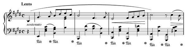 Nocturne Op. 62 No. 2  in E Major by Chopin piano sheet music