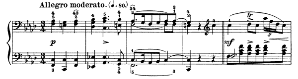 Polonaise Op. 71 No. 3  in F Minor by Chopin piano sheet music