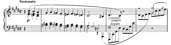 Prelude Op. 45  in C-sharp Minor by Chopin piano sheet music