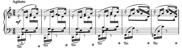 Prelude Op. 28 No. 1  in C Major by Chopin piano sheet music