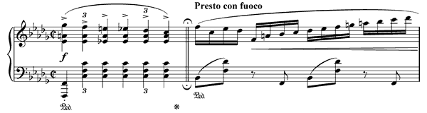 Prelude Op. 28 No. 16  in B-flat Minor by Chopin piano sheet music