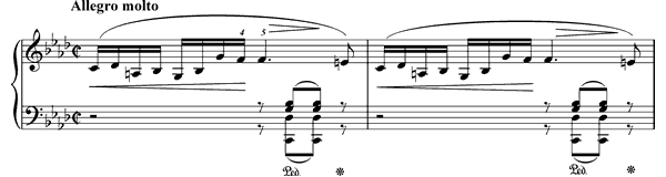 Prelude Op. 28 No. 18  in F Minor by Chopin piano sheet music