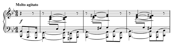 Prelude Op. 28 No. 22  in G Minor by Chopin piano sheet music