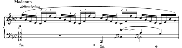 Prelude Op. 28 No. 23  in F Major by Chopin piano sheet music