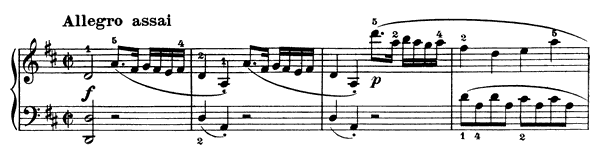 Sonatina Op. 37 No. 2  in D Major by Clementi piano sheet music